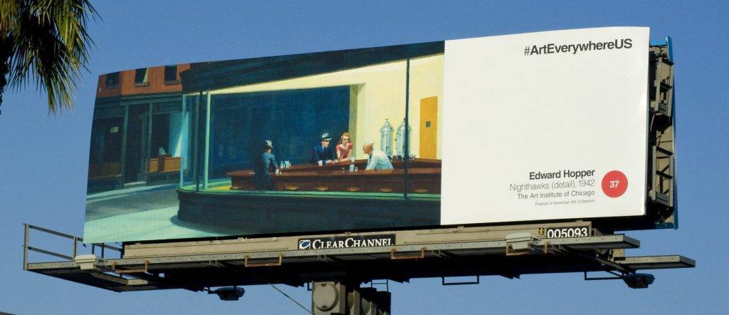 Art Everywhere/ Los Angeles/ Edward Hopper