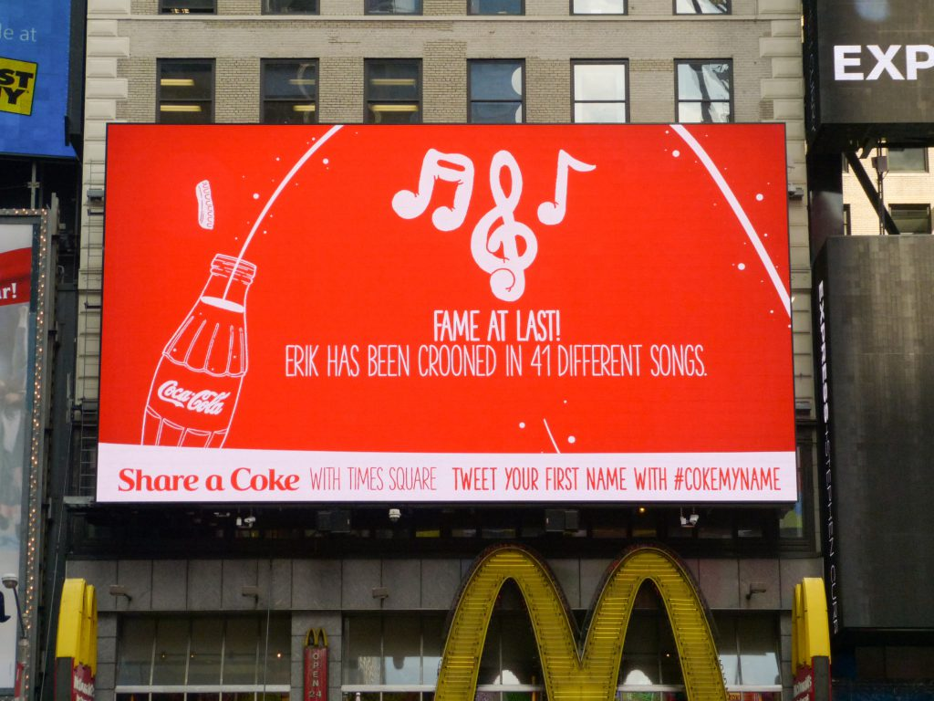 Coca Cola Tweet Billboard