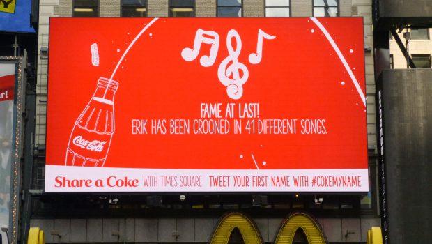 Coca Cola Tweet Billboard