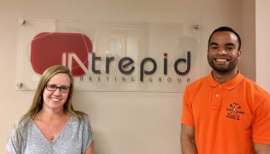 OAAA visited the Intrepid agency in Raleigh, NC, in June, explaining OOH attributes.