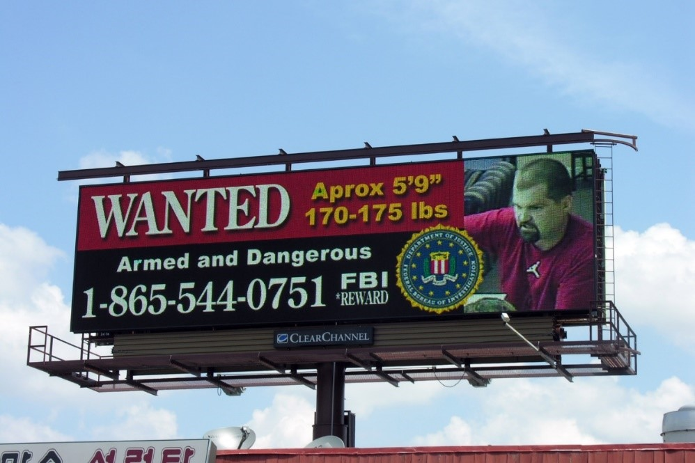FBI Billboard