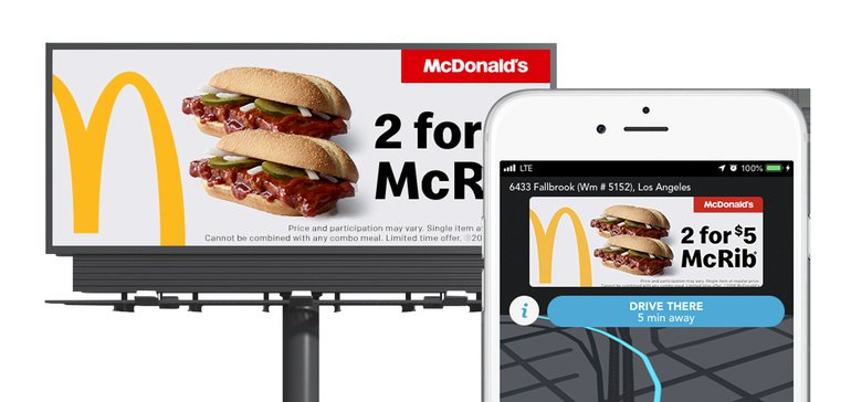 McDonald's OOH Ads Geofenced to Waze Reaches 1 9 MM | OAAA Special
