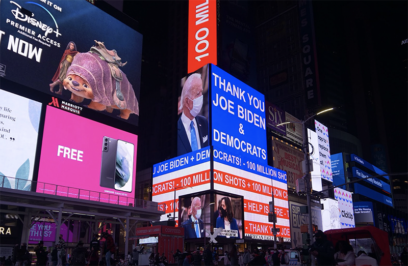 Joe Biden Billboard